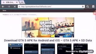 Comment télécharger gta 5 v sur tablette