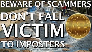 Beware Of Imposters  Scammers  Cryptocurrency Scams  Fakes