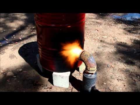 Waste oil Burner free heat