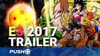 Dragon Ball Z Fighter Gameplay Reveal Trailer | PlayStation 4 | E3 2017