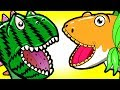 """My Cute Shark Attack Cartoon #61 (Shark-Copter vs. Dino-Copter!!! BEST OF!!) kids cartoons!"