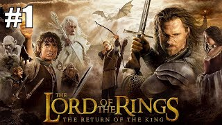 The Lord of the Rings: The Return of the King - Level 1: helm's deep (1 Player PC Gameplay)