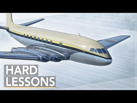 Why You Wouldn't Want to Fly The First Jet Airliner: De Havilland Comet Story