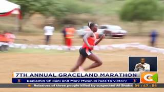 Benjamin Chikani and Mary Mwaniki race to victory in Graceland