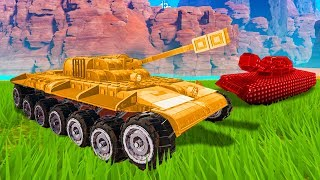 WHO HAS THE BEST TANK CHALLENGE!? - Trailmakers