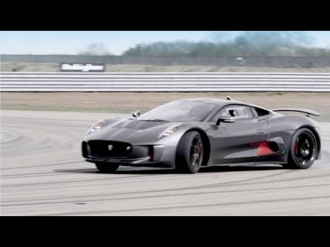 NEW Jaguar C-X75 ► Hybrid Supercar Prototype Without Equal