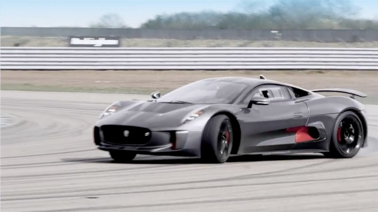 New Jaguar C Hybrid Supercar Prototype Without Equal Youtube