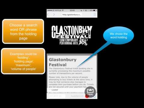 How to Use The Refrehinator to Get Glastonbury tickets