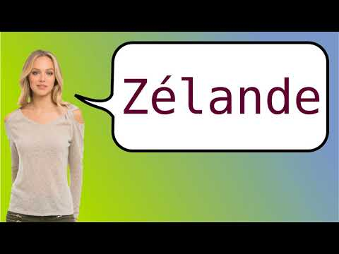 How to say 'Zeeland' in French?