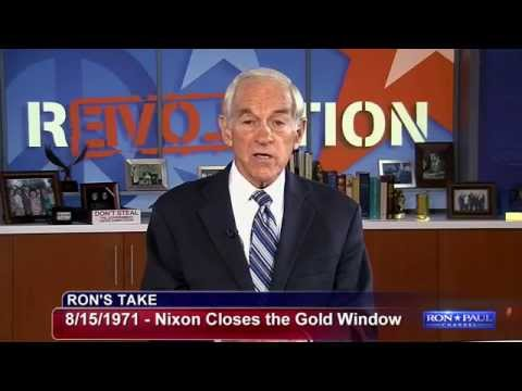 Nixon Closes the Gold Window: A Day That Lives in Infamy