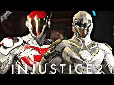 Injustice 2 Online - EPIC WHITE LANTERN GEAR!