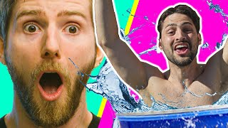 Dunk Tank Speed Challenge!!