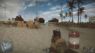 HOW TO PLAY ON THE TEST RANGE BATTLEFIELD 4