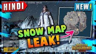 🔥*NEW* SNOW MAP LEAKED! PUBG WINTER MAP LEAKS DETAIL HINDI   NEW CAR, BUILDING, LOBBY   HINDI PUBG