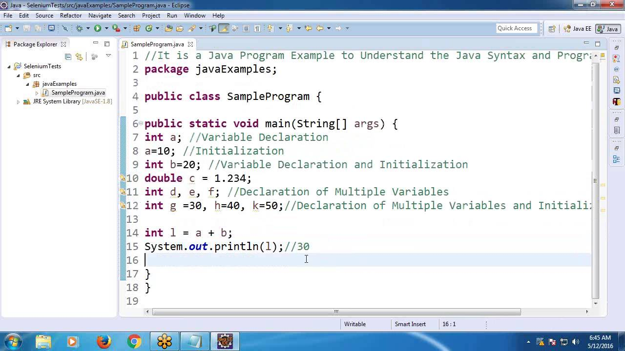 Java tutorial for beginners: gui examples.