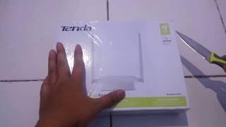 Router murah 100rb rupiah untuk penerima dan pemancar wifi || TENDA N301