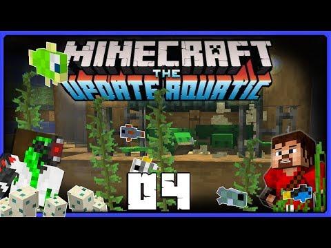 Doc Breaks Turtles! | Minecraft Update Aquatic BUILD CHALLENGE ||  Ren & Doc Build Stuff! #04