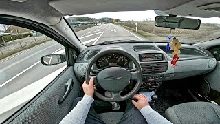 Fiat Punto 188 60HP | POV Test Drive Onboard Probefahrt