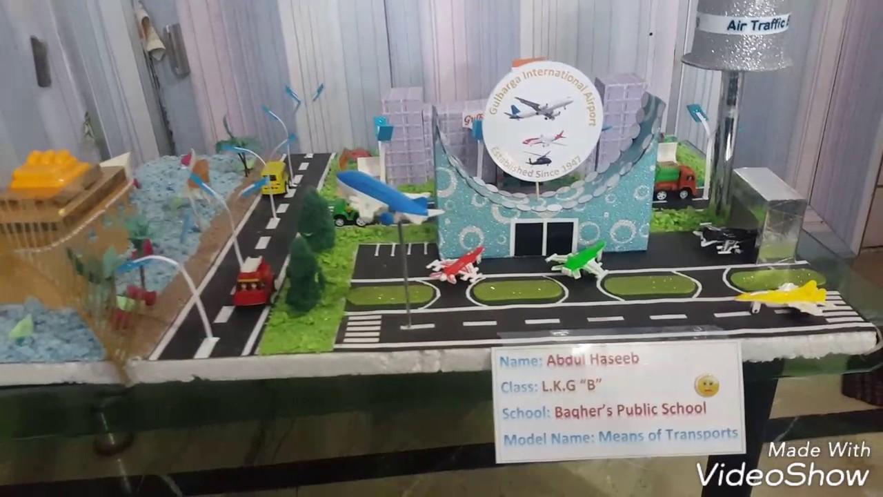 Model - Means of Transport
