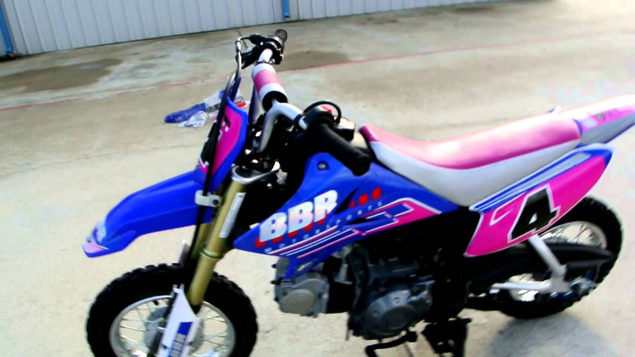 2009 Yamaha TTR50E Electric Start Kids Dirt Bike: Overview and ...