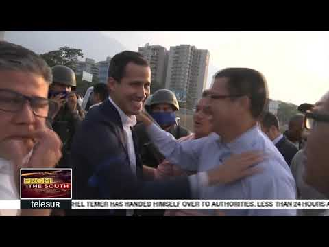 Backers of Coup Attempt in Venezuela on the Run
