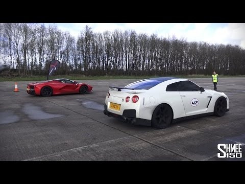 Supercars Head-to-Head at Vmax Stealth – LaFerrari, P1, 918, Veyron, Agera