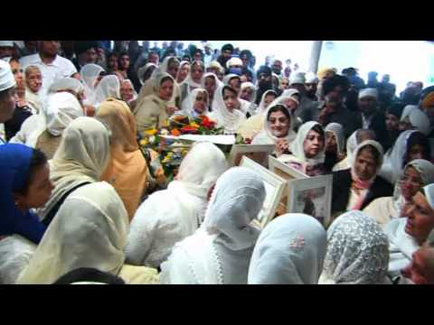 SIKH TV CEO BHAI GAGANDIP SINGH FUNERAL PART 1