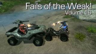 Fails of the Weak - Volume 16 - Halo 4 - (Funny Halo Bloopers and Screw Ups!)