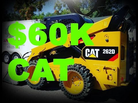 Buying A Brand New Caterpillar Skid Steer 262D (Ditch Witch SK850 Broke Down)