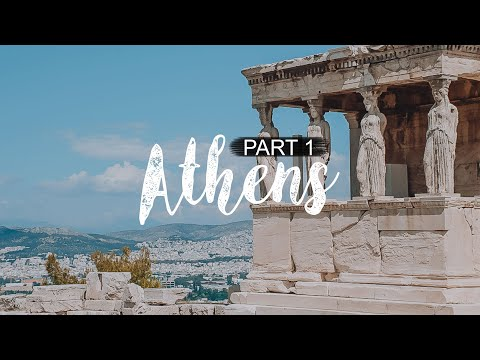 Exploring Athens in Greece - Travel Vlog Part 1