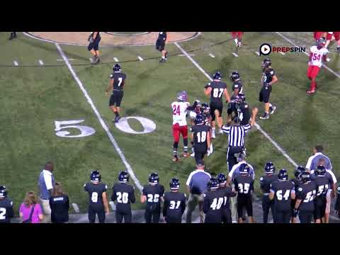 Waggener Wildcats at Boyle County Rebels 1st half highlights FB