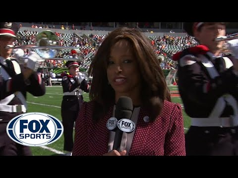 Pam Oliver unfazed by band in Cincinnati