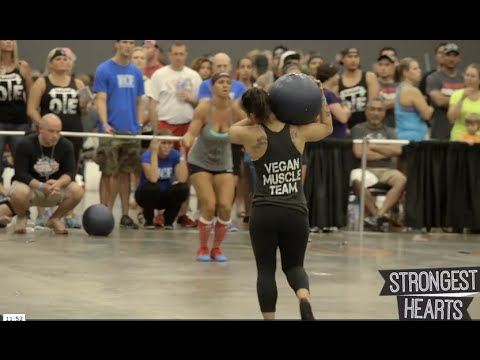 Strongest Hearts 15; Vegan Crossfit Athletes at Naturally Fit Games