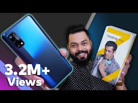 realme 7 Pro Unboxing & First Impressions ⚡⚡⚡65W SuperDart Charge,sAMOLED Screen,64MP Cameras & More