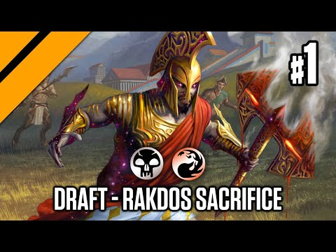 MTGA - Theros Beyond Death Bo3 Draft - Rakdos Sacrifice P1