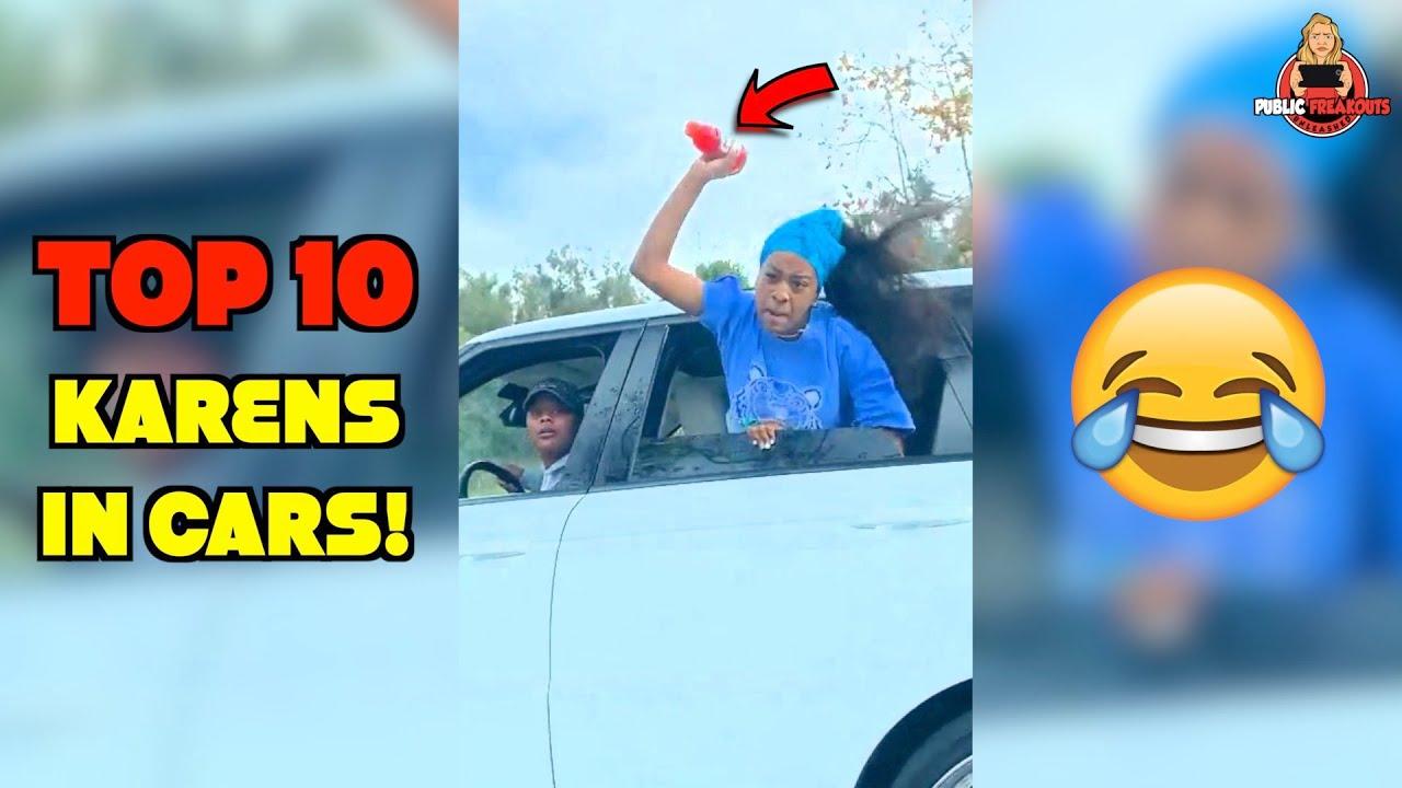 Top 10 ROAD RAGE Public Freakouts! (ft. Road Karen)