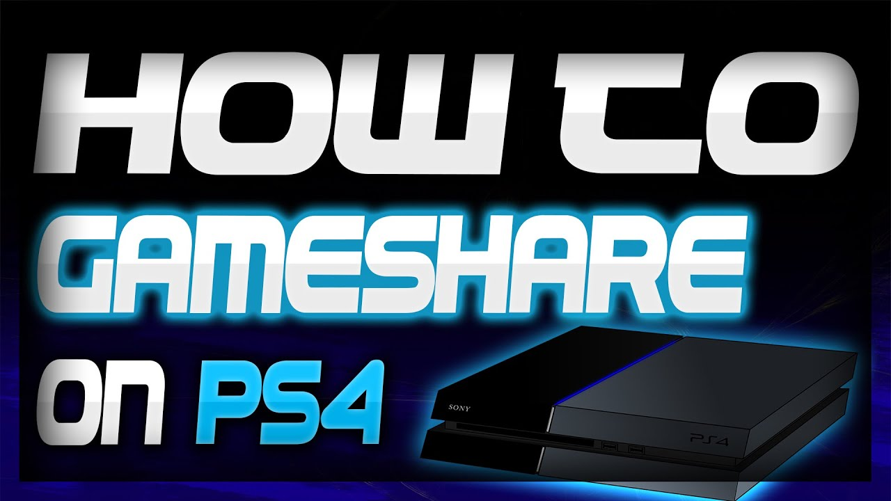 How to Gameshare on PS4 EASY | Play Your Friends Games for Free | Tutorial  2019