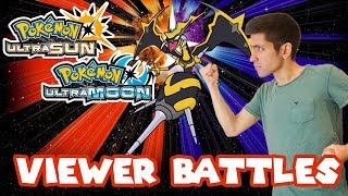 VIEWER BATTLES! Members get Priority! Pokemon Ultra Sun and Ultra Moon!