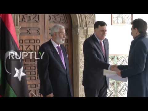 Libya: New Italian ambassador presents credentials as Rome reopens Tripoli embassy
