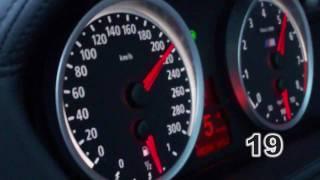 Tachovideo 0-270km/h BMW X5M