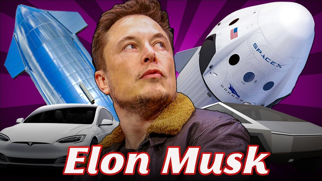 What companies is Elon Musk involved in?