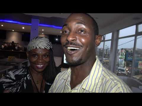 Dream Restaurant & Lounge in Dakar City Having Group Dinner - Senegal April 2021 Roots Tour