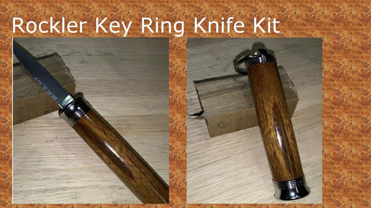 Rockler Compact Key Ring Knife Kit #48344