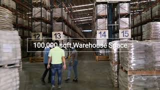 100,000 sqft Warehouse Space with Racking Systems For Rent in Port Klang