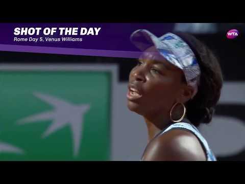 2017 Internazionali BNL d'Italia Day 5 | Shot of the Day | Venus Williams