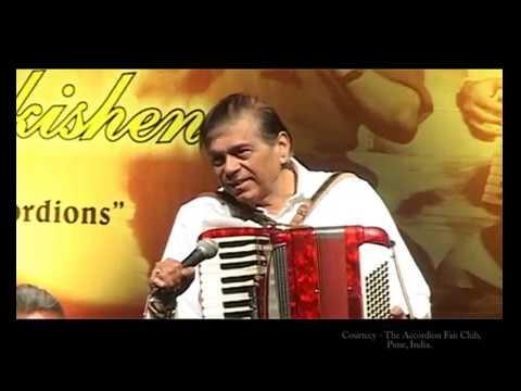 """Tera Jana""  Film-Anari - Shankar-Jaikishan - Piano Accordion - Suhaaschandra Kulkarni."