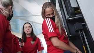 Женская сборная России летит в Португалию