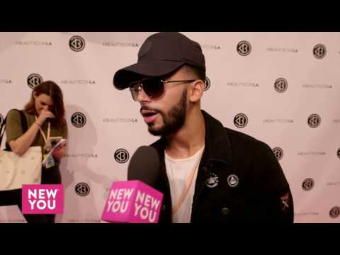 Adam Saleh Interview at BeautyCon 2016