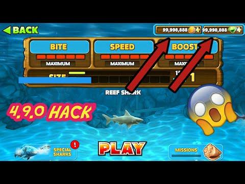 hungry shark evolution mod apk 6.4.6