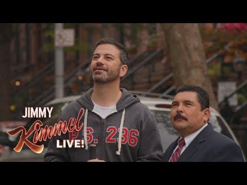 Jimmy Kimmel & Guillermo Break Mike Piazza's Window